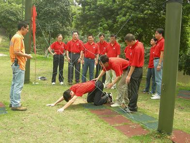 深圳海滨专业户外拓展、团队建设体验式培训一天方案