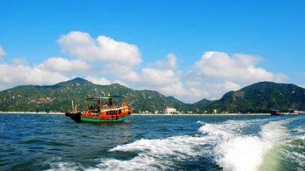 <惠州一日游>巽寮湾天后宫+三角洲岛