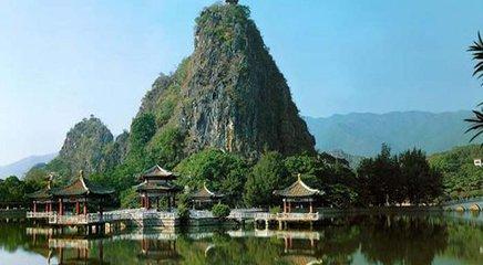 德庆盘龙峡彩虹花田、水车群、瀑布群、森林矿温泉、八卦村、崇禧塔两天游