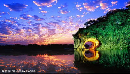 BGJQ【T2美丽桂林】古东瀑布、兴坪江、世外桃源、银子岩三晚四天高铁团