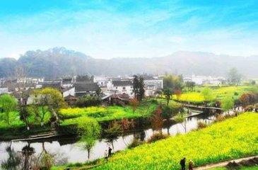 江西婺源县李坑旅游景区在关闭4个多月后将重新开放