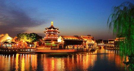 华东南京、无锡、苏州、杭州、上海、水乡乌镇六天