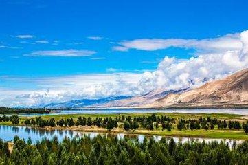 青藏铁路风光、西藏拉萨布达拉宫 林芝雅鲁藏布大峡谷江南风光双飞单卧8天