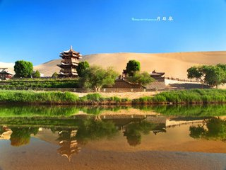 B2线:甘肃兰州、嘉峪关、敦煌鸣沙山、月牙泉、西宁青海湖、塔尔寺6天双飞