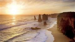 <澳大利亚8日游>百年名校悉尼大学,有轨电车环游墨尔本老城,黄金海岸直升机巡游,艺术涂鸦小巷漫步