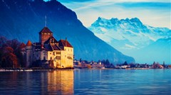 [国庆]<法国瑞士意大利10-11日游>一价全含,玩转瑞士深度,冰川3000,西庸城堡,日内瓦湖畔,米其林美食,天空之城,金色山口快车,巴黎自由活动,全程WIFI