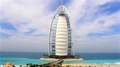 <迪拜+阿布扎比4晚6日游>B行程迪拜乐园/运河游船/入住ubai parks园区酒店,观光缆车,阿联酋航空香港直飞,去程A380