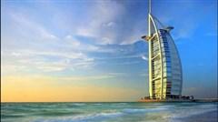 <迪拜-阿布扎比4晚6日游>1晚JW,1晚帆船,1晚皇宫,享678酒店早餐,豪车游迪拜,海洋王子号,维迪水乐园,香港直飞
