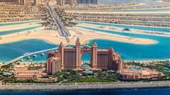 <迪拜-阿布扎比6日游>六星亚特兰蒂斯酒店,无限次入内参观失落空间水族馆,无限次畅游亚特水上乐园,阿拉伯特色餐,香港直飞