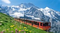 <法瑞意10日游>一价全包 25人团 直飞往返 少女峰 TGV列车 卢浮宫 双游船 巴黎市区酒店 瑞士两晚   特色餐 WIFI