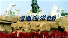 <深圳小梅沙海洋世界直通车1日游>海底奇观