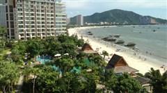 <惠州巽寮湾沙滩2日半自助游>住海尚湾畔度假公寓,享无边际游泳池,私家沙滩