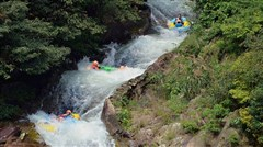 <清远黄腾峡1日游>勇士漂流、栈道探险、水上乐园