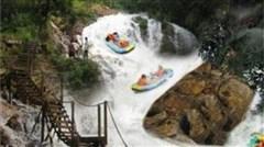 <惠州龙门水帘洞-溯溪1日游>龙门塔山公园、水帘洞漂流、溯溪探险