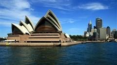 <澳洲大堡礁8日享乐游>畅游悉尼港,穿越热带雨林,大猫号游大堡礁,暑期新增天堂农庄并安排直升机观光