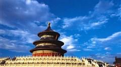 <北京-故宫-天坛-颐和园-北海公园-八达岭长城双飞5日游>0购物、挂牌四星级酒店、果园采摘