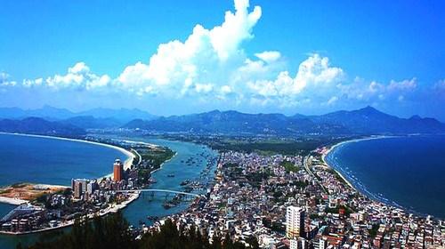 【惠州】<惠州惠东2日游>美女照镜沙滩趣味,魔幻激光巽秀,奇妙海龟岛,壮美双月湾观景台