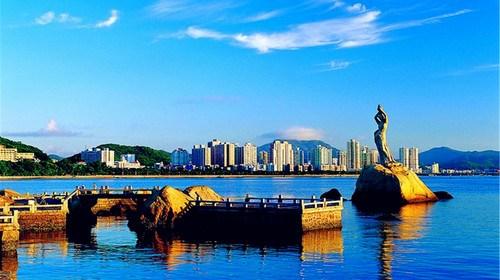 【澳门】<珠海澳门环岛1日游>梅溪牌坊加远眺澳门加石景山公园
