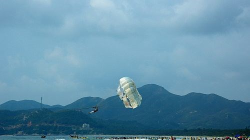 【上川岛】<台山上川岛飞沙滩-猛虎峡2日游>飞沙滩旅游度假区