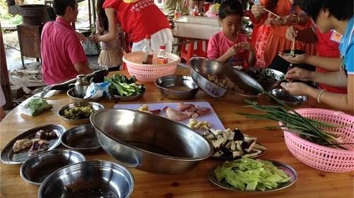 【惠州】<惠州小桂湾绿道1日游>农家乐野炊