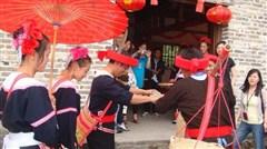 [春节]<清远2日游>赏清远小桂林/游南岗千年瑶寨/观篝火晚会