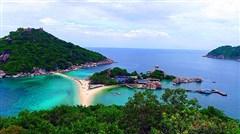 <泰国苏梅岛机票+当地4晚6日半自助游>本岛,入住苏梅亭阁别墅度假村,海边度假酒店,四驱环岛游,2人即可成行