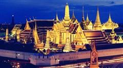 <泰国曼谷-芭堤雅6日游>,含导游服务费,看大皇宫,游湄南河,骑大笨象,东方公主号人妖秀,杜拉拉水上水场等精选行程
