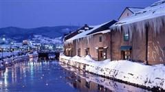 [春节]<日本北海道5日游>浪漫天堂小樽 Kiroro滑雪度假村 白色灯树节 白色恋人 一晚温泉 两人享WiFi