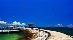 <巴厘岛机票+当地4晚5日游>2人独立小团,2晚海边国五酒店,2晚独栋泳池别墅,W酒店海景下午茶,特色SPA,漂流