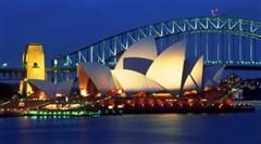 澳大利亚大堡礁8天游>海航,蓝山国家公园,悉尼海港游船,外堡礁爱灵礁,梦幻世界,SkyPoint观景塔