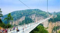 [春节]<张家界森林公园-玻璃桥3日游>挑战空中之路玻璃桥, 畅游阿凡达美景,0购物