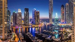 <阿联酋5日游>含服务费,广州往返,游览奢华之城迪拜,首都阿布扎比,乘坐无人驾驶观光缆车游览世界第八大奇迹人造棕榈岛