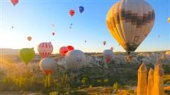 <土耳其+西班牙+葡萄牙18日游>广州往返,含签证费,棉花堡体验温泉酒店,热气球之乡卡帕多起亚,以弗所遗址,巴塞罗那,马德里,里斯本