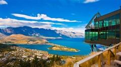 <新西兰南北岛-奥克兰-罗托鲁瓦-基督城-皇后镇9日游>蒂卡波湖美景、乘缆车赏湖光山色、玩转皇家牧场、观地热奇观、探秘毛利文化村