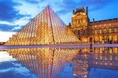 <德国+法国+意大利+奥地利+捷克双14天游>海航直飞,全国联运,卢浮宫,巴黎圣母院,埃菲尔铁塔,佛罗伦萨,蓝色多瑙河,网红圣地