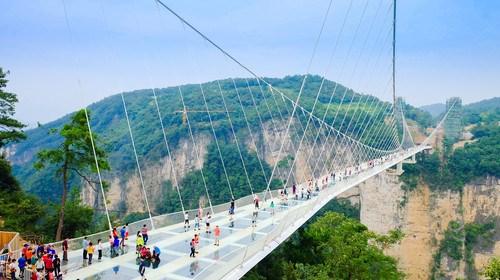 【张家界】[春节]<张家界森林公园-玻璃桥3日游>挑战空中之路玻璃桥, 畅游阿凡达美景,0购物