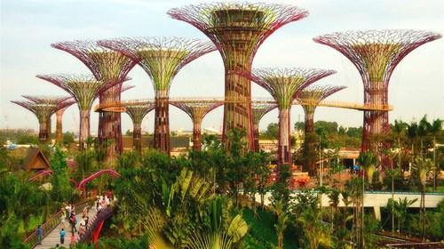 【新加坡】<新加坡-马来西亚4晚5日游>(含时光之翼剧场入场券)新进马出全国联运,0自费,A行程滨海湾花园,空中走廊B程新加坡纯玩畅玩环球影城,动物园