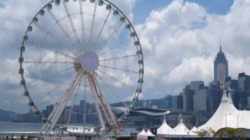【香港】<香港1日游>铜锣湾观光、天星小轮及香港钟楼,中环摩天轮、香港游