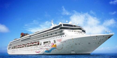 <单船票-丽星邮轮处女星号上海--福冈-上海3晚4日>9月5日 上海往返 特价航次