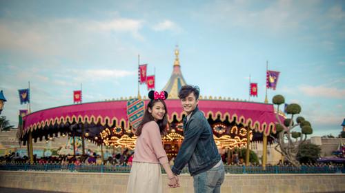 <香港3日游>黄大仙祈福,香港迪士尼乐园全天,海洋公园3小时(含园内缆车),1天自由活动,一次到港全玩遍