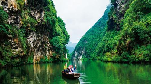 <连州2日游>震撼连州地下河、游湟川三峡、入住龙潭度假村