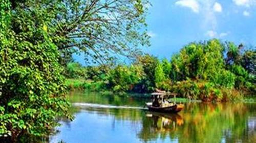 <清远2日游>古龙九瀑、马头山飞拉达攀岩、飞来湖湿地公园美食节