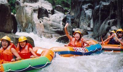 惠州拓展基地、南昆山森林公园、龙门温泉两天培训度假方案